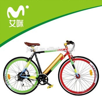 Pedal Assist Electric Motor Road Bike Made In China