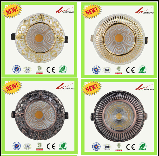 Leimove recessed led recessed downlights white milky for customization-4