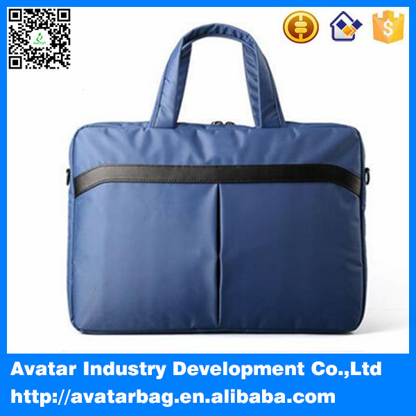 Fashion elegant 15.6 inch nylon laptop bag / messenger shoulder bag