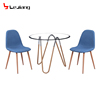Free Sample Modern Italian Double Layer Chairs 8 Seaters 10mm Thickness Tempered Glass Dining Table