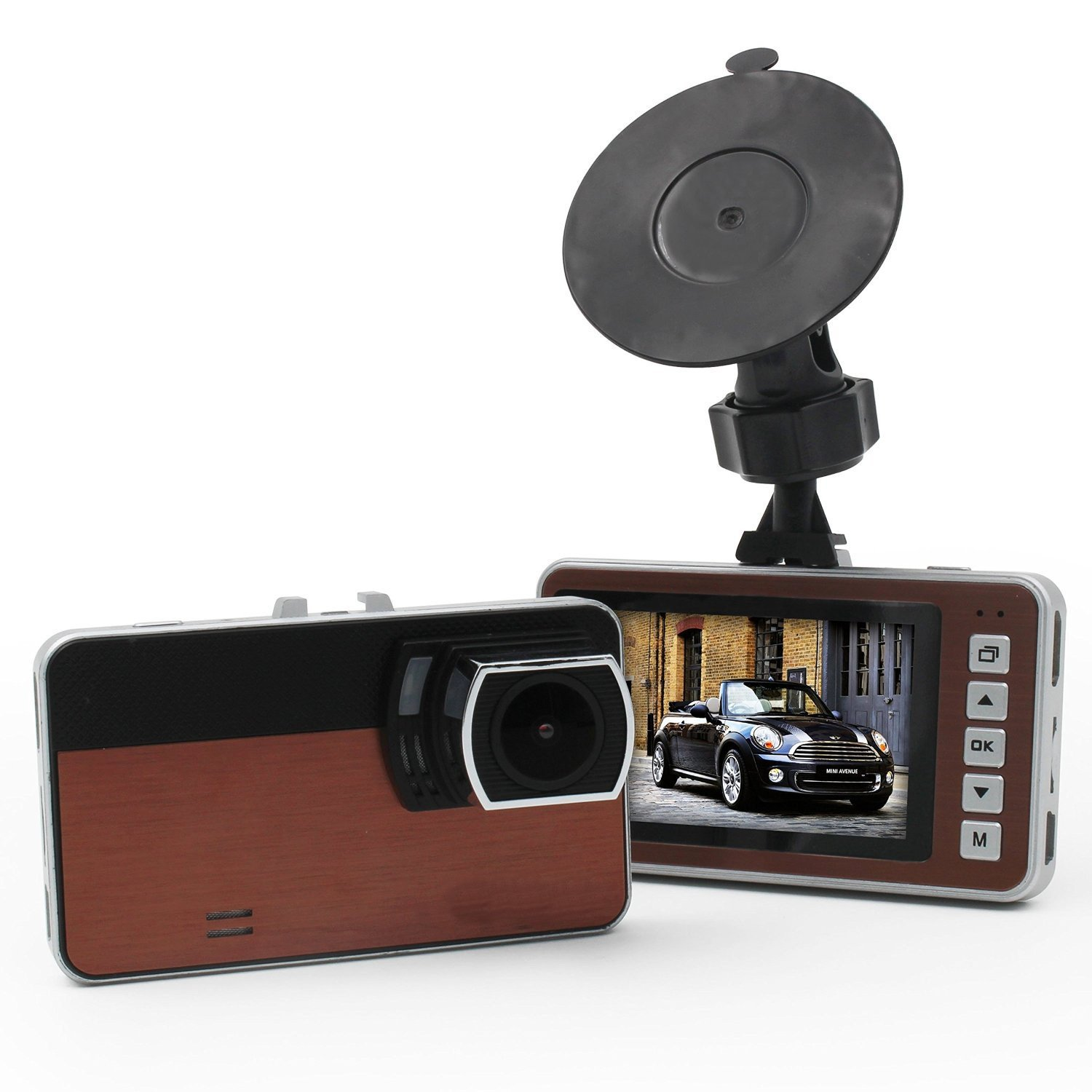 VRFEL E28 1080P Full Hd Dash Cam Car Video Camera Auto Dashboard Driving Recorder with super good low light performance and 170 Wide Angle lens.