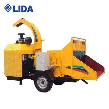 Lida Diesel Engine Mobile Wood Chipper - Buy Diesel Engine Wood  Chippers,Mobile Wood Chipper,Mobile Wood Chipper With Diesel Engine Product  on