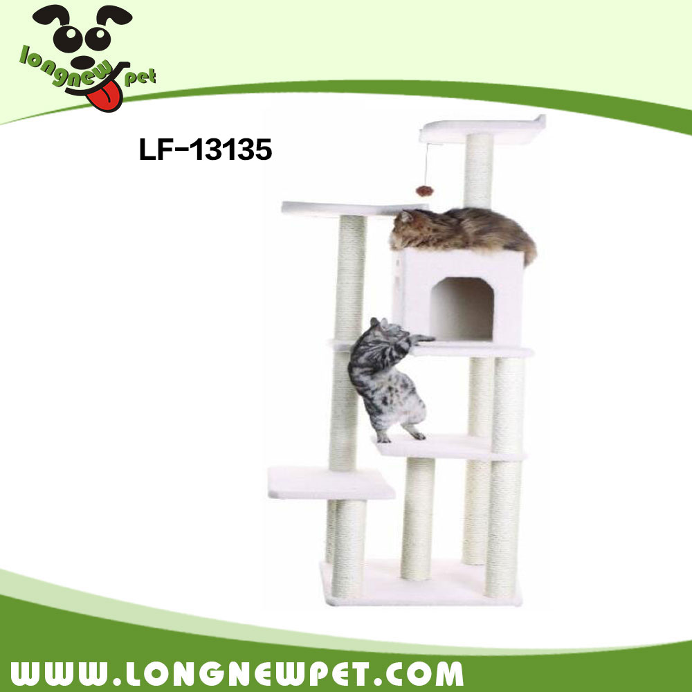 China Supplier Cat Scratcher Tree Tower of Tracks Cat Toy Cat Condo