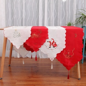 High Quality Embroidered Cloth Table Runner Christmas Decoration For Rectangle Table
