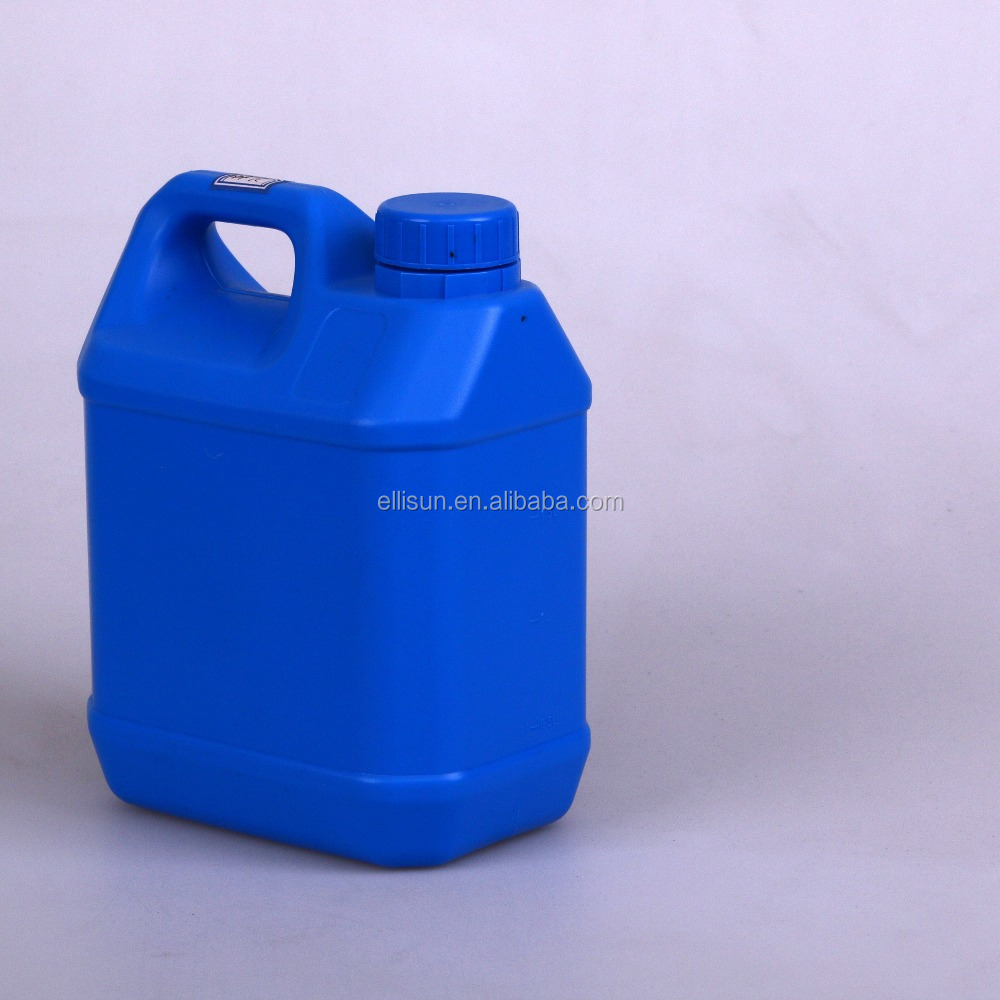 high quality hdpe blue plastic bucket with handle for chemical liquild