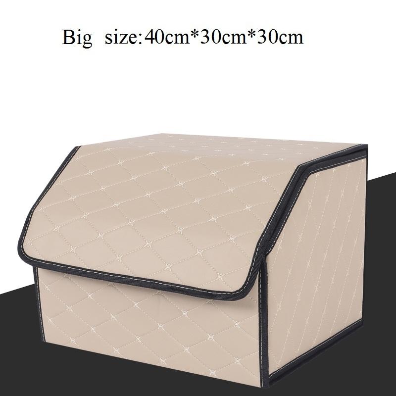40*30*30 см органайзер для багажника автомобиля коробка для хранения Авто Инструменты сумка из микрофибры складной большой контейнер для хран...(Китай)