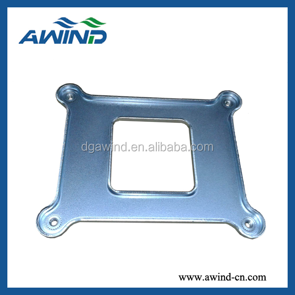 2011 cpu plate for heatsink in plated Zn Plate