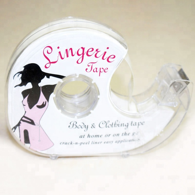 Fashion Tape Double Sided Adhesive Safe Lingerie Clothing Clear Bra Strip Tape