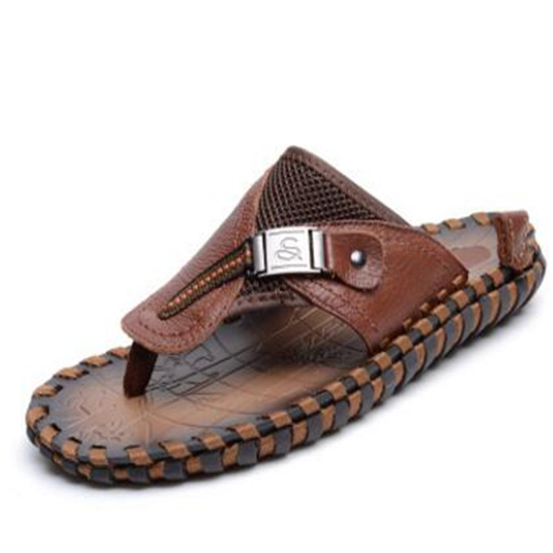 6e63cafdc8b 2019 African Arabic fashion popular Summer Italian breathable beach casual  men leather thong flip flop sandals