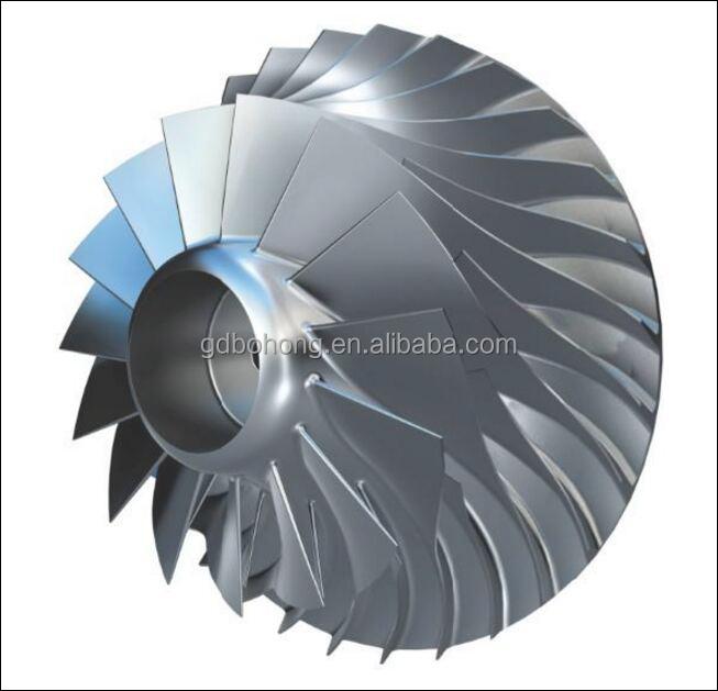5 Axis Cnc Machining Compressor Impeller
