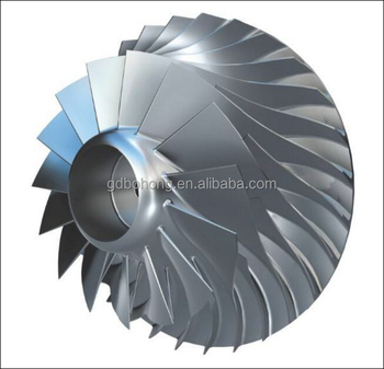 5 Axis Cnc Machining Compressor Impeller