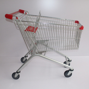 Pug shopping post trolleys porters