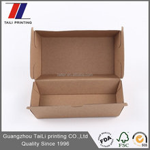 Customized food printing ink hot dog box