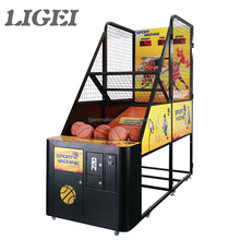 Quality product low price india arcade amusement coin operated basketball game machine