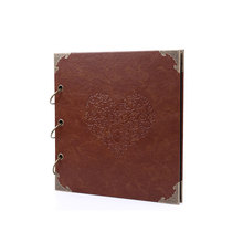 Wholesale Leather Cover Photo Album with Black Paper