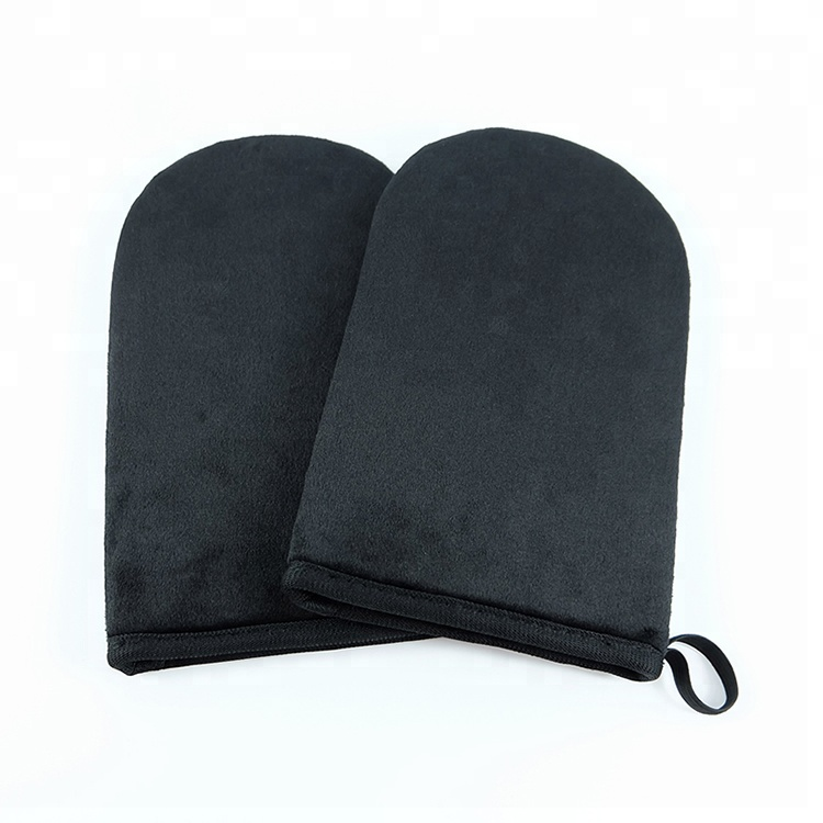 Skin Care Makeup Self Tanning Mitt Application, Brown;black;pink;green;customized color available