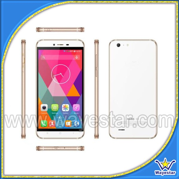 2016 4g android phone 2g+16g quad core cell phone 5.5inch Black+Gray, White+Gold