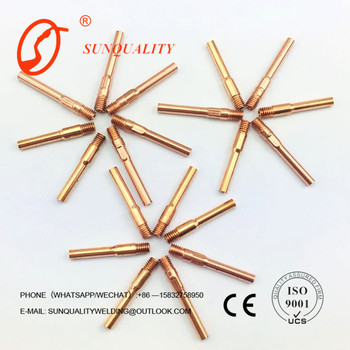 Hi-Q HOT SALE welding tips 030 for sale mig mag gun torch spares parts accessories mig contact tips thread size Customs Data
