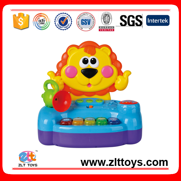 Intelligent electronic musical lion baby toys, educaitonal music instrument toys
