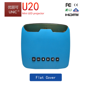 Chengdu factory UNIC new professional pico pocket hd mini projector U20 with BIS for india market