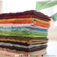 fashion design 100% polyester adult bedroom mat ultra soft