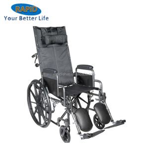 China Manufacturer Folding Manual Standing Wheelchair
