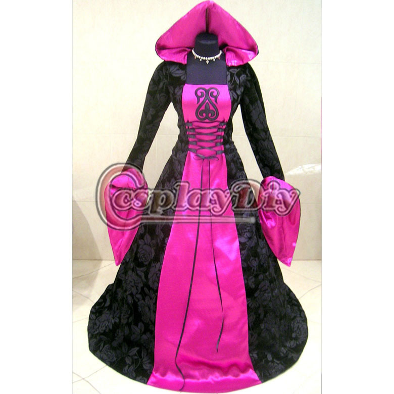 Popular Plus Size Gothic Wedding Gowns Buy Cheap Plus Size: Popular Medieval Witch Costumes-Buy Cheap Medieval Witch