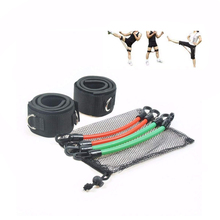 Vechtsporten Kinetische Speed Agility Training Been <span class=keywords><strong>Weerstand</strong></span> Bands Tubing Taekwondo Training Apparatuur