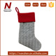 "best selling polyester 20"" free standing christmas stocking holder"