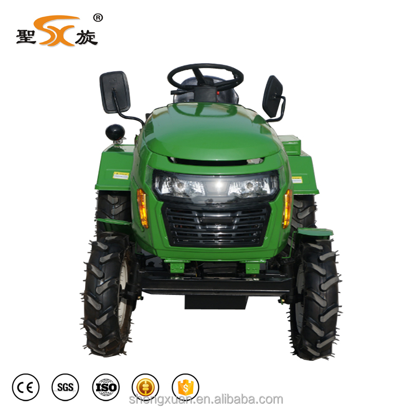 Agricultural small mini farm 15hp garden 2wd tractor price on sale(SX-15)