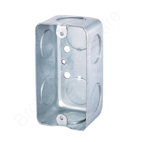 pre-galvanized 2x4 steel handy box wall mounted metal box