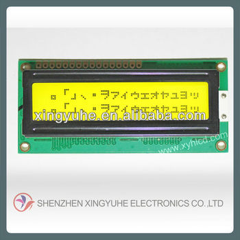 STN tranflective electronics lcd lcm 1602 lcd display lcm supplier