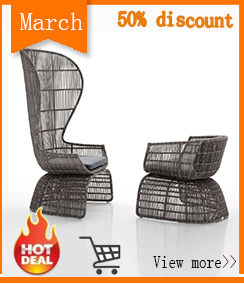 50% discount 2018 Chinese factory direct sale latest popular modern armress wicker dining chair