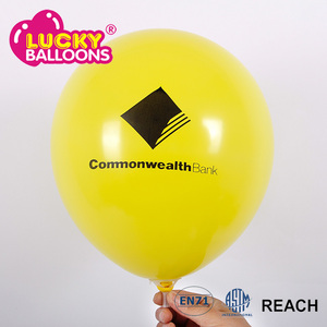 multicolor thick promotional latex balloon accept custom design