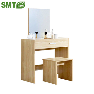 white dressing table cheap modern makeup vanity dresser with mirror