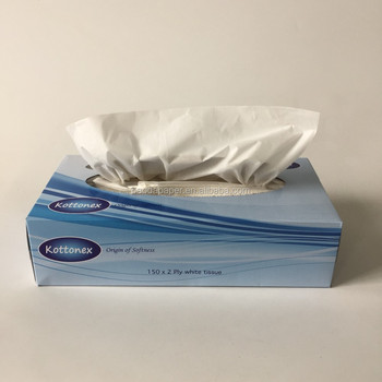 Brand Name Box Facial Tissue