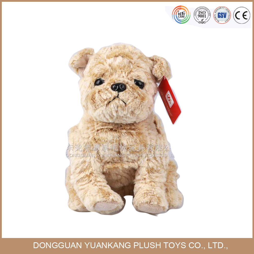 2017 Newest design brown stuffed puppy & dog stuffed <strong>animals</strong>