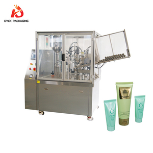 Facial washer cosmetic ointment filling and sealing machine