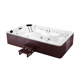 K-8976 12 person hot tubs above ground swimming fiberglass pool sexi family spa tub