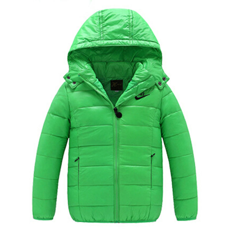 High quality!!! 6-12Yrs Boys&Girls Korean fashion down coat,Baby Winter Warm Coat Kids fashion thick warm winter hooded Coat