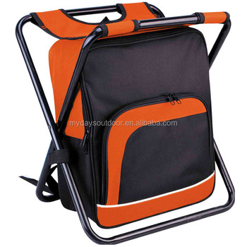 Foldable Fishing Backpack Chair with Cooler Bag Portable C&ing Stool for BeachC&ing  sc 1 st  Alibaba & Foldable Fishing Backpack Chair With Cooler BagPortable Camping ...