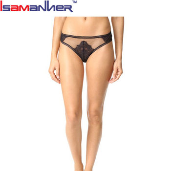 ba4663752387 Lace Sexy Hot Black Women Transparent Panties Thong Women Wear - Buy ...