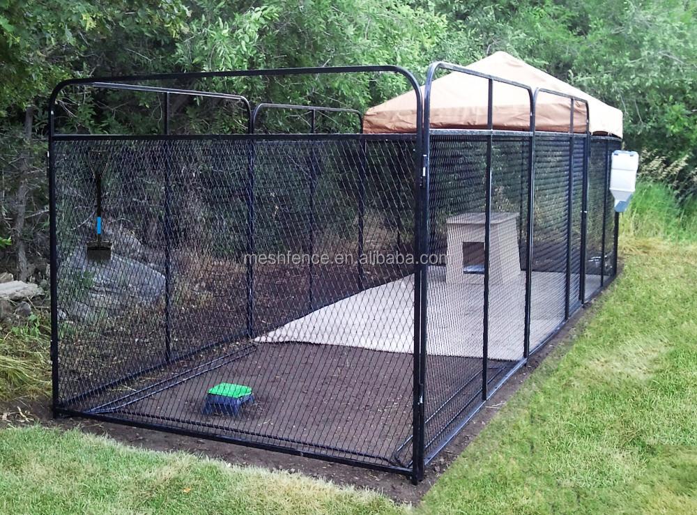 Cage chien maison segu maison for Cloture jardin pour chien