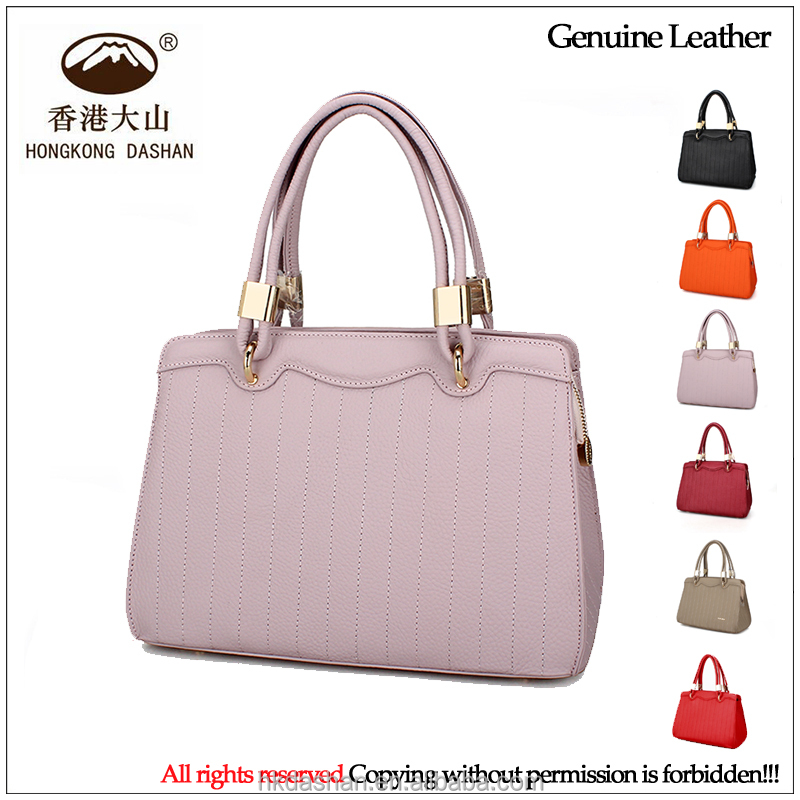 Latest New Design Exquisite Genuine Leather Young Fashion Shoulder Bags S Elegant Handbags Global Sourcing Festival