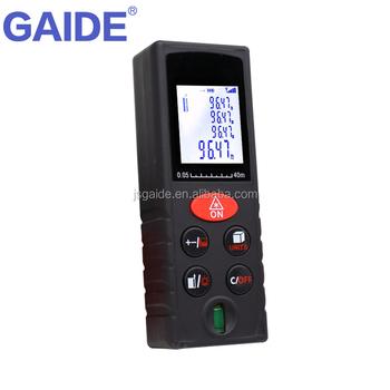 digital smart infrared laser pointer tape measure level/area volume ...