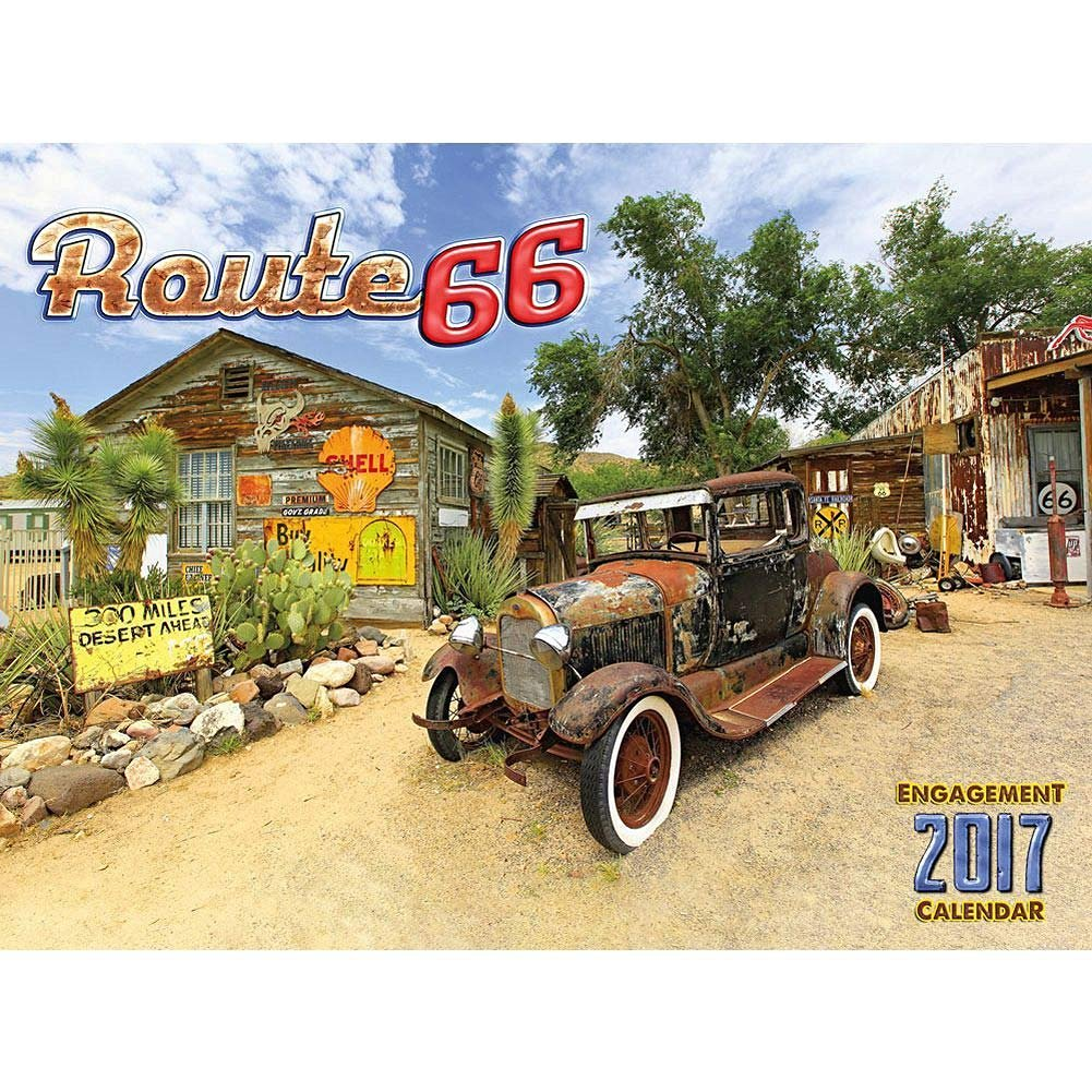 Route 66 2017 Wall Calendar