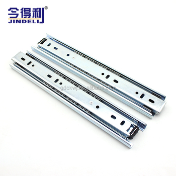 Stainless Steel Kitchen Cabinet Drawer Channel Ball Bearing Heavy Duty Tool  Box Soft Close Drawer Slides