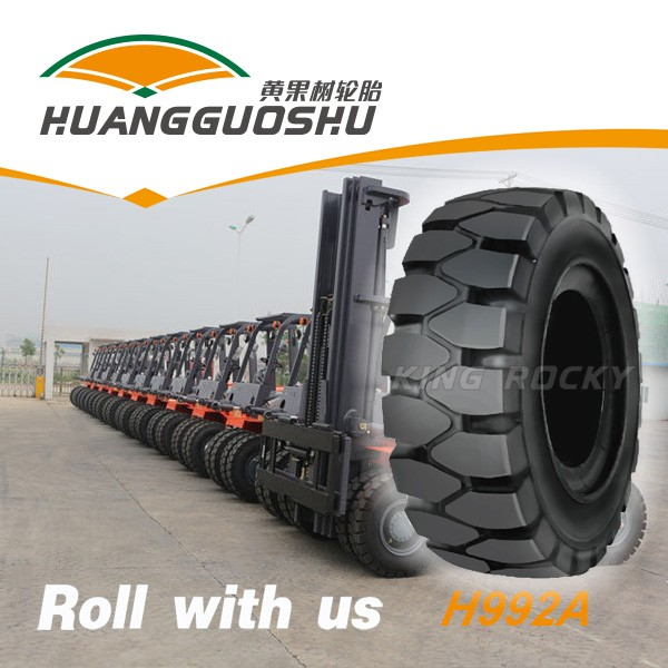 H992A chinese famous brand forklift tire and rims 28*9-15