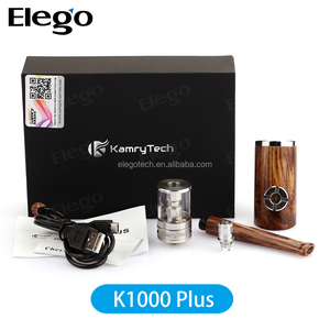 Hot selling Kanger Kbox 200w Kamry K1000 Plus e pipe wood from Elego Wholesale