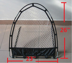 "Golf 26 "" x23 "" Pop Up pratique Chipping Net avec 5 trous cible superposition"